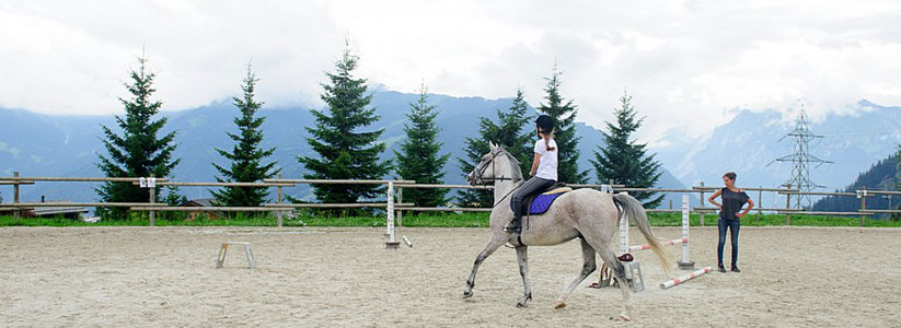 Verbier horse riding lessons