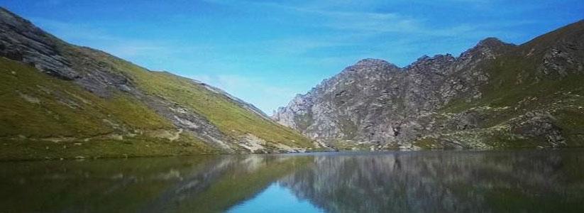 Verbier Lac des Vaux summer