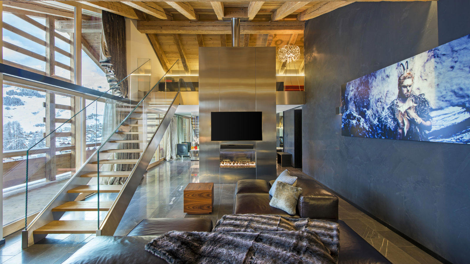 W hotel verbier luxury verbier for Hotel design schweiz